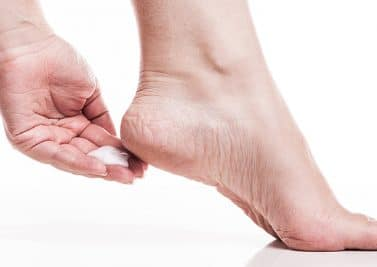 Traiter les pieds secs