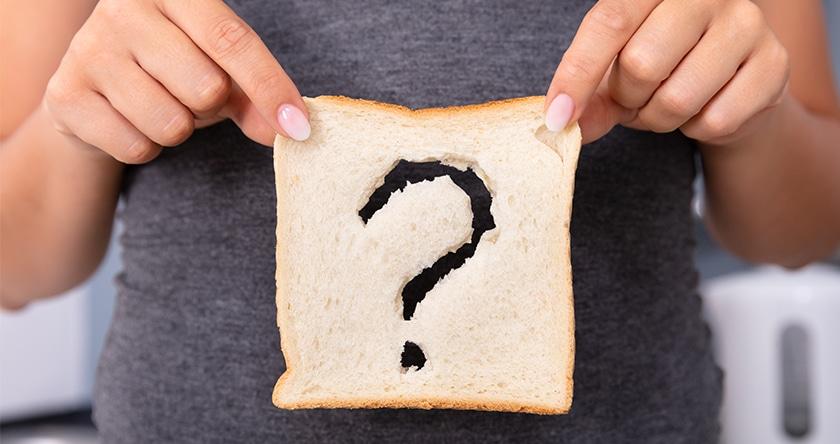 Les aliments à consommer en cas d'intolérance au gluten