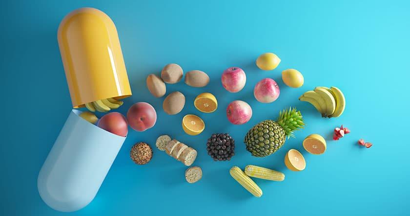 Micronutriments et probiotiques